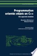 Programmation orient  e objets en C