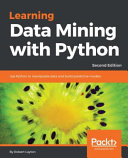Learning Data Mining with Python   Second Edition