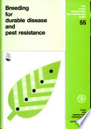Breeding for Durable Disease and Pest Resistance