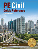 Pe Civil Quick Reference