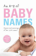 An A Z of Baby Names