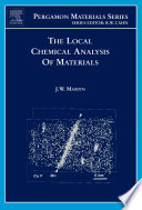 The Local Chemical Analysis Of Materials book
