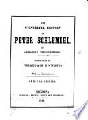 Peter Schlemihl s wundersame Geschichte     F  nfte Auflage   The Wonderful History of Peter Schlemihl     Translated by William Howitt  With six illustrations  Original Edition   Ger    Eng
