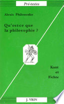 illustration Qu'est-ce que la philosophie?