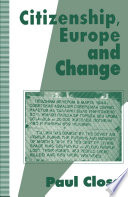 Citizenship  Europe and Change
