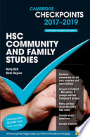Cambridge Checkpoints HSC Community and Family Studies 2017 19