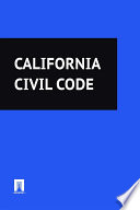 California Civil Code 2016