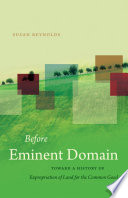 Before Eminent Domain book