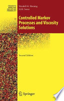 Controlled Markov Processes and Viscosity Solutions
