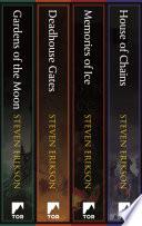 Malazan Book of the Fallen  Books 1 4