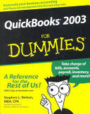 QuickBooks 2003 For Dummies