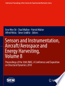 Sensors and Instrumentation  Aircraft Aerospace and Energy Harvesting   Volume 8