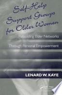 Self help Support Groups for Older Women