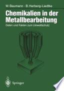Chemikalien in der Metallbearbeitung