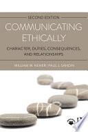 Communicating Ethically