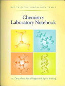 General Chemistry Laboratory Notebook