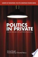 Politics in Private