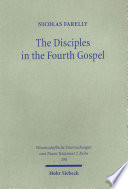 The Disciples In The Fourth Gospel