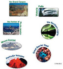Seven Natural Wonders of the World Stickers