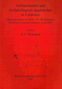 Archaeometric and Archaeological Approaches to Ceramics