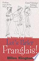 illustration Let's Parler Franglais!