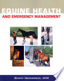 Equine Health and Emergency Management