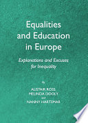 Equalities and Education in Europe