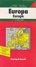 EUROPA POLITICA 1:3.500.000 n.e.