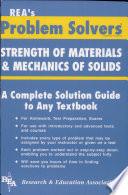 Strength of Materials Mechanics of Solids Problem Solver