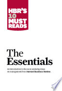 HBR S 10 Must Reads  The Essentials