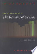Kazuo Ishiguro s The Remains of the Day