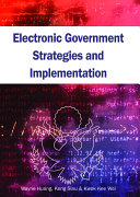 Electronic government strategies and implementation