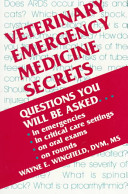 Veterinary Emergency Medicine Secrets : qustion and answer format. it should be useful...