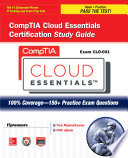Comptia Cloud Essentials Certification Study Guide Exam Clo 001