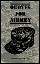 Quotes for Airmen