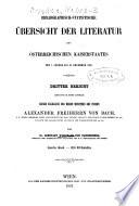 Bibliographisch Statische   bersicht der Literatur des   sterreichischen Kaiserstaates vom 1  J  nner bis 31  December 1835