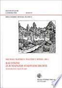 Bausteine zur Mainzer Stadtgeschichte
