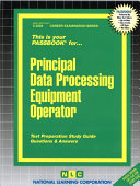 Principal Data Processing Equipment Operator