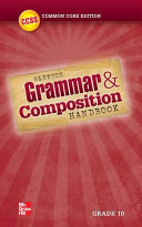 Grammar And Composition Handbook Grade 10