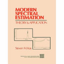 Modern Spectral Estimation
