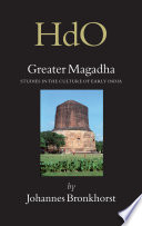 Ebook Greater Magadha Epub Johannes Bronkhorst Apps Read Mobile