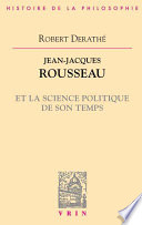 illustration Jean-Jacques Rousseau et la science politique de son temps