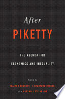 Book After Piketty
