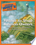 The Complete Idiot s Guide to Finance For Small Business