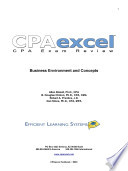 CPA Exam Review  Business Environment and Concepts 2011