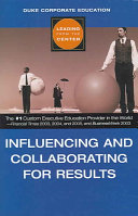 Influencing and Collaborating for Results
