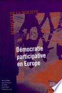 Démocratie participative en Europe