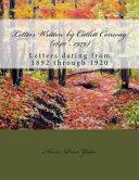 Letters Written by Catlett Conway (1840 - 1929) CSA Veteran