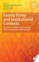 Family Firms And Institutional Contexts