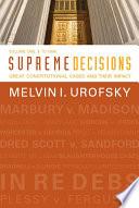 Supreme Decisions  Volume 1